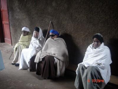 Jewish Elders in Shewa Provence, Ethiopia.