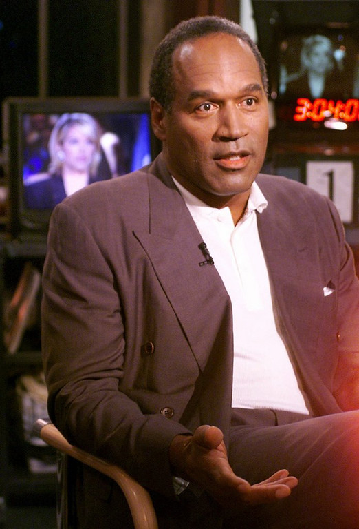 . <p><b> It�s been two years since O.J. and Nicole Brown Simpson divorced, but the hall of famer says he still hopes to do this with his ex-wife � </b> <p> A. Reconcile <p> B. Remarry <p> C. Test out his new Ginsu knife <p>   (AP Photo/Richard Drew)