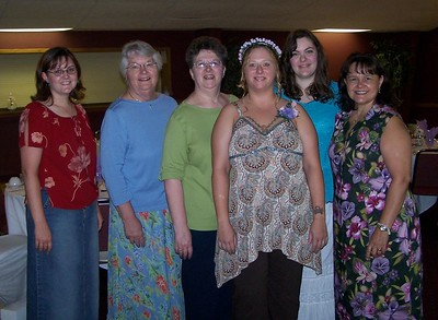 Jennifer's Wedding Shower - July 24, 2005