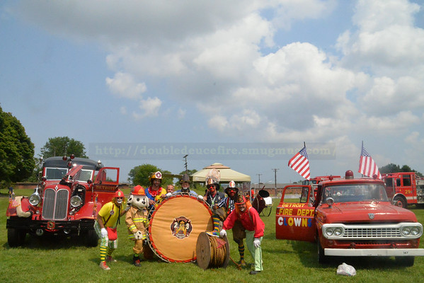 Detroit Firemen Field Day 2014