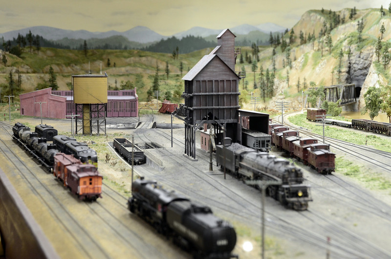 Jeff Parker's layout at the Central Valley Modeling Works.