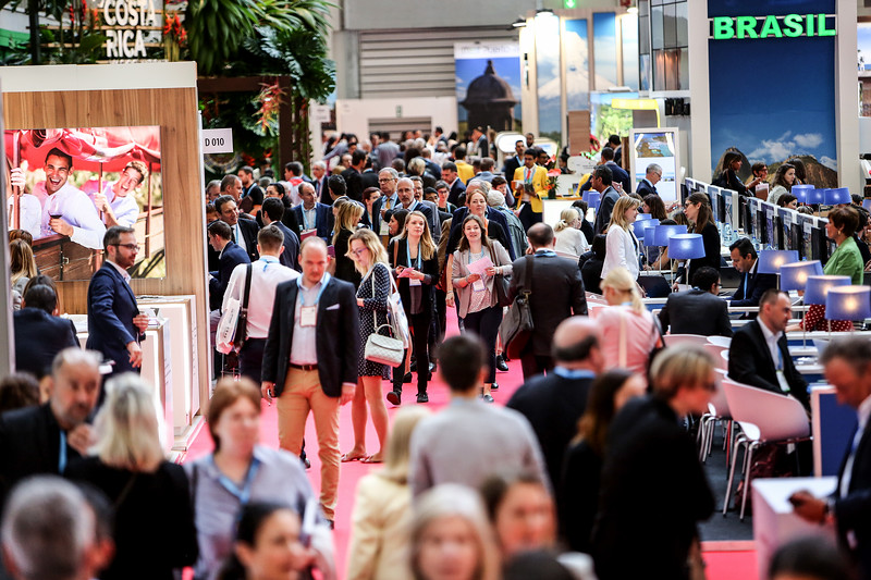 Show floor at IMEX in Frankfurt