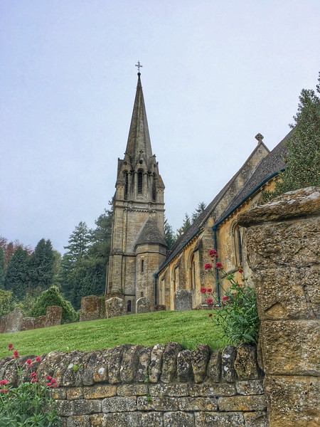 St Mary's Church, Batsford, Cotswolds, England.