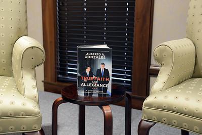 Alberto R. Gonzales' book event