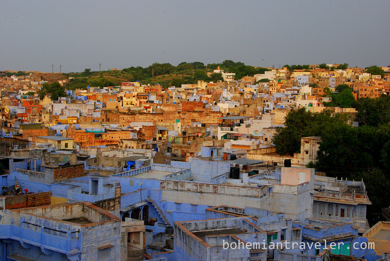 View of the Blue City of Jodhpur at dawn (2).jpg