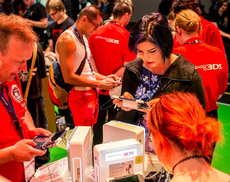 Nintendo 3DS at Gamescom 2015