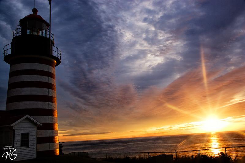 West Quoddy at Sunrise