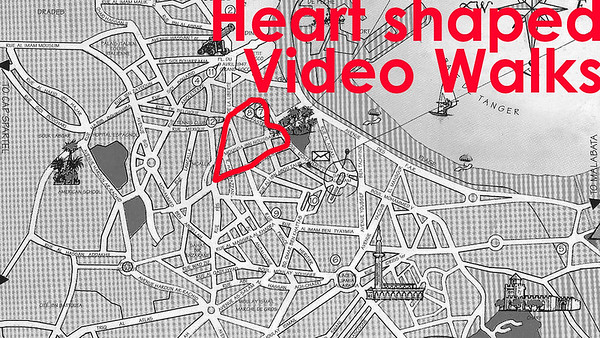 Heart shaped video walks