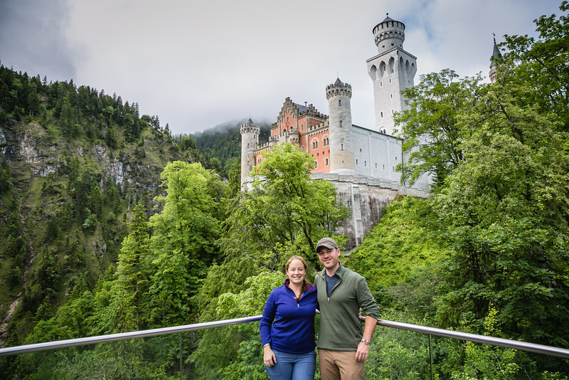 Neuschwanstein Castle - Divergent Travelers - David and Lina Stock (America's Adventure Travel Couple)