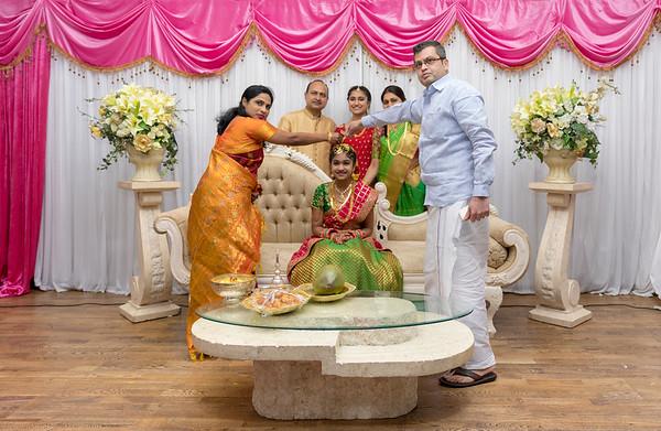 Mahi Half Saree Ceremony London