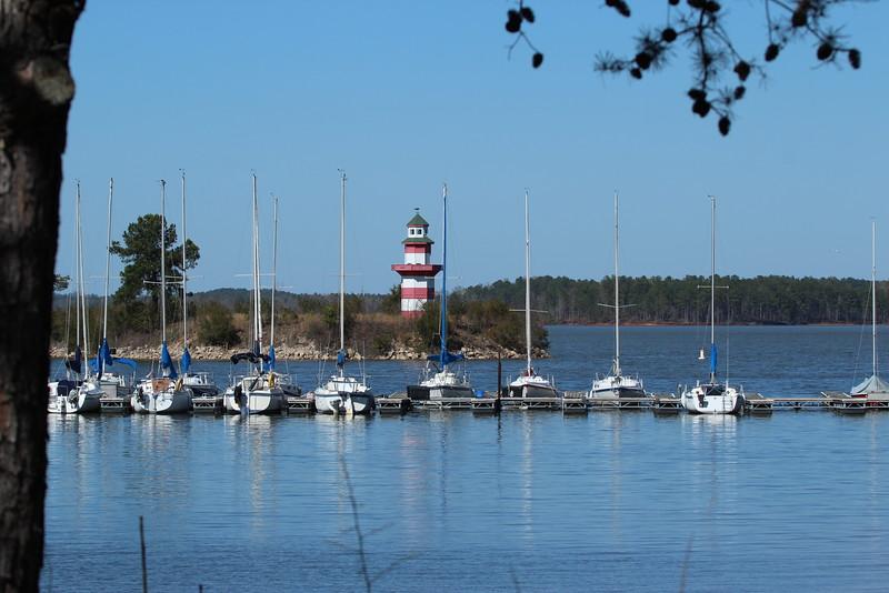 West Point Lake Lighthouse