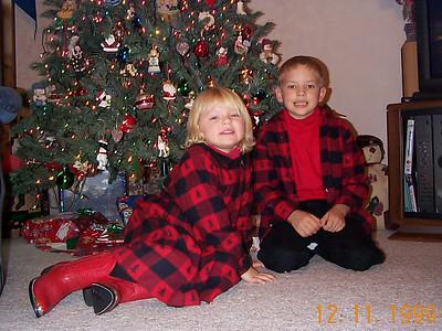 Santa at Nana's, 1999