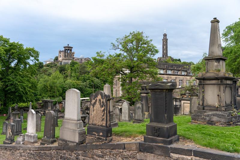 Old Calton Cemetery in Edinburgh