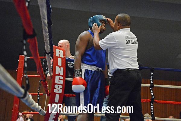 Bout #3  Vince Hadley (Southside Boxing Club) vs Marlon Stein (Cleveland)  Heavy Wt.