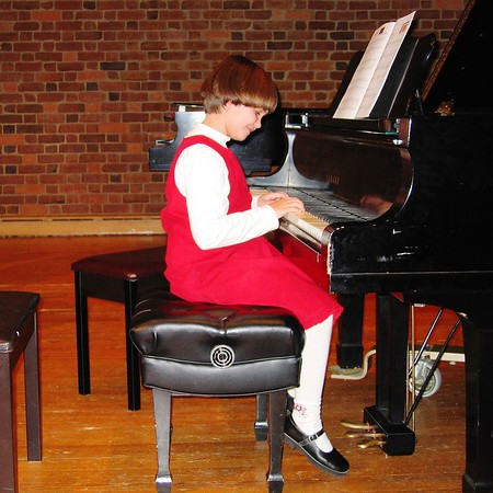 Anna's Piano Recital 12/04