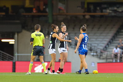 R4 AFLW Collingwood vs Nth Melbourne
