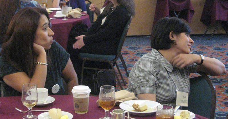 The ADP Gala Luncheon--Maria Diaz and Sonali Rai.