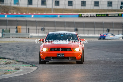 #87 T. Boesche -  Orange Boss 302 Mustang
