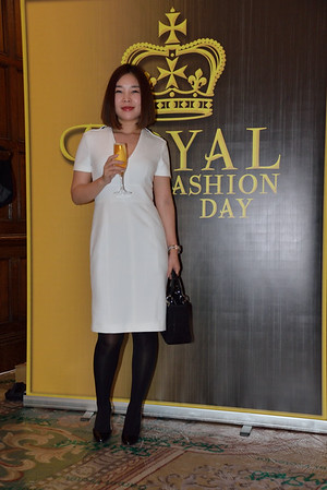 Participants to the Royal fashion Day 2016-17