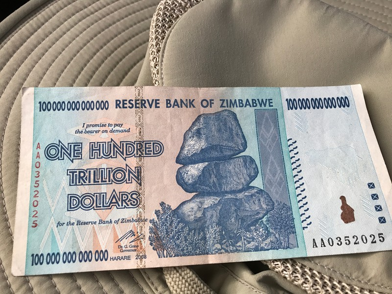 Zimbabwean currency - Dan Poag