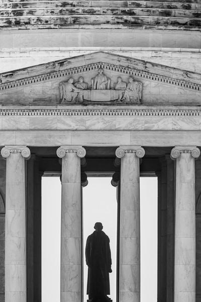 Jefferson Black White Silhouette Memorial DC Thomas Washington.jpg