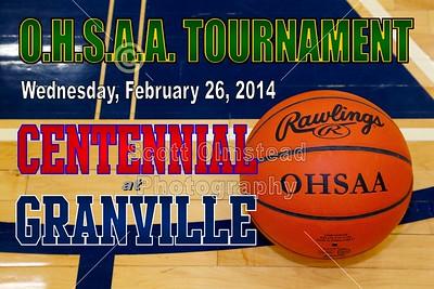 2014 Centennial at Granville (02-26-14) OHSAA TOURNAMENT