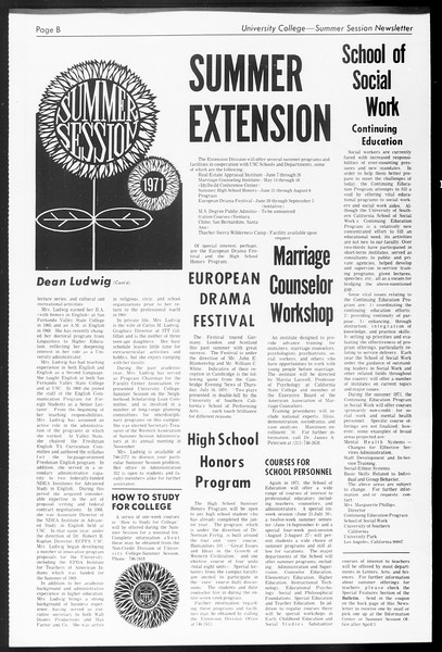 Daily Trojan, Vol. 62, No. 86, March 11, 1971