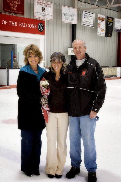 2009, February 7 vs. EGR, Senior Night
