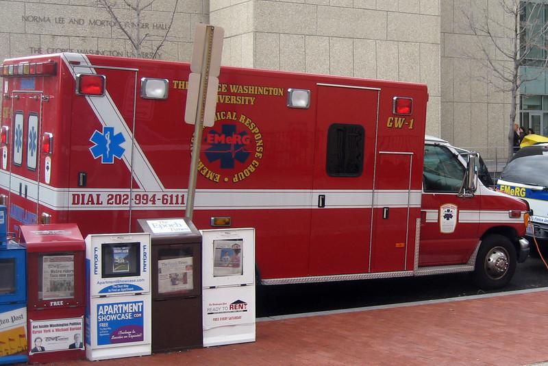 David's actual ambulance