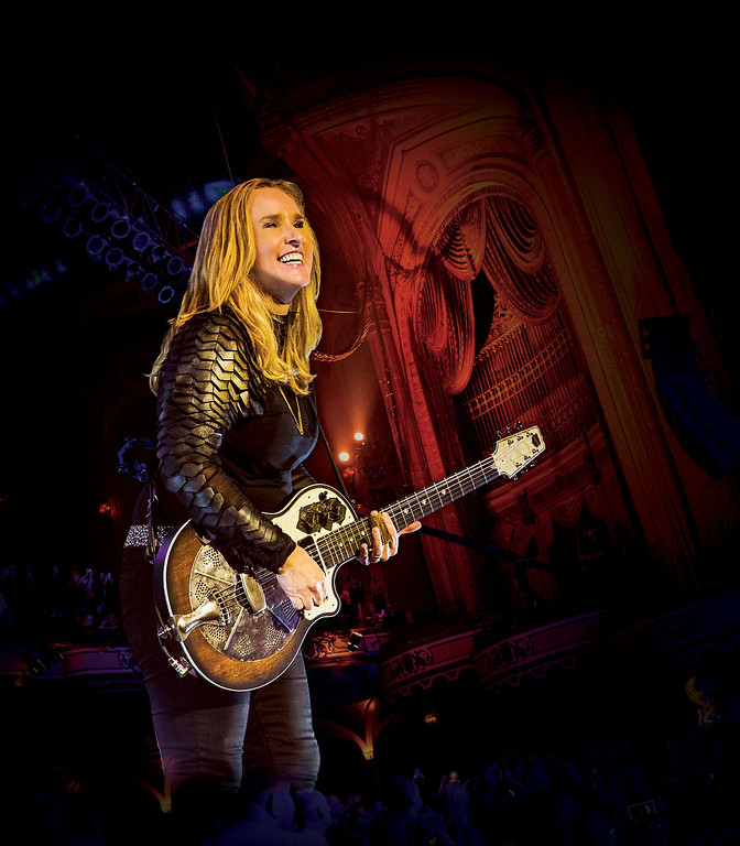 ". Melissa Etheridge�s most recent album is 2014�s �This Is M.E.� She performs at Evans Amphitheater at Cain Park in Cleveland Heights on June 24. For more information, visit <a href=""http://cainpark.com/\"">cainpark.com</a>. (photo credit: Submitted)"