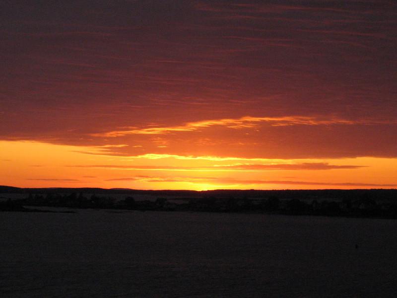 Sunset on Bailey Island