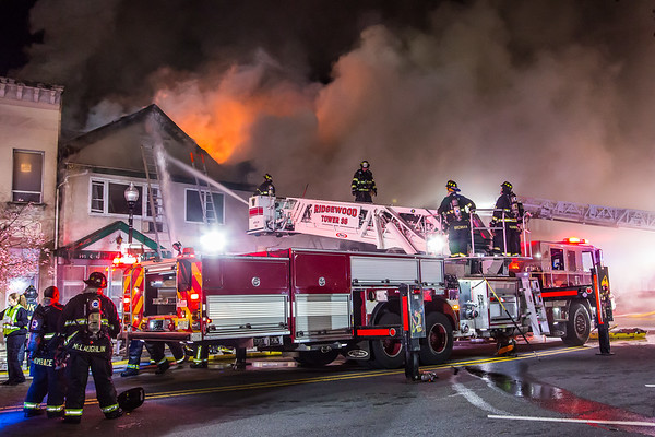 Ridgewood NJ 4th alarm, 19 N. Broad St. 04-05-20