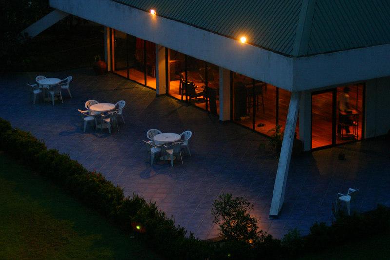 The hotel night club.