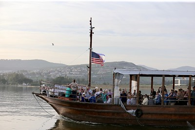 Boat Ride on Sea of Galilee  3-5-20