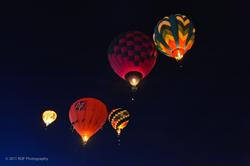 Dawn Patrol.  Albuquerque International Balloon Fiesta