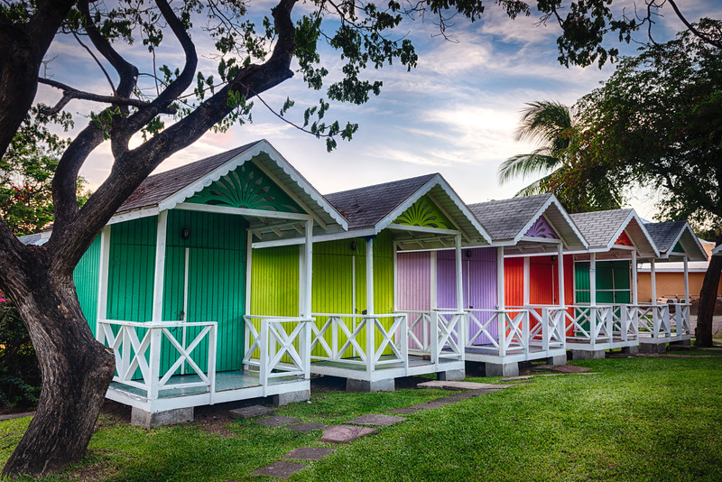 St Lucia Huts