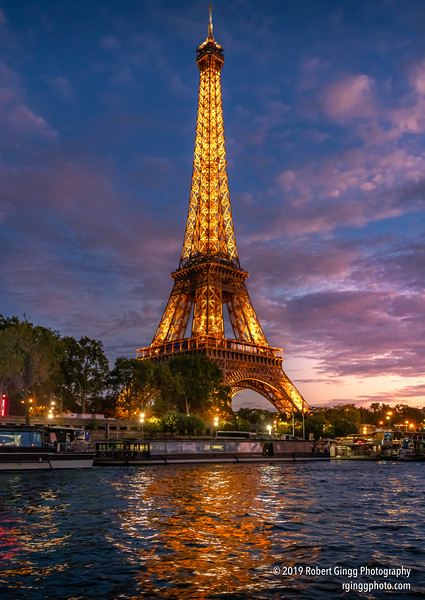 Eiffel Tower at Sunset 2