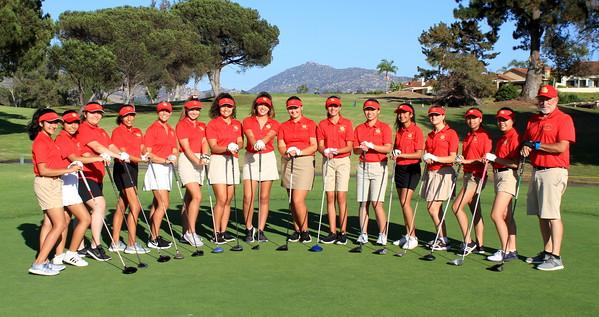 2019 08 28 MC Girls' Varsity Golf Team Photos