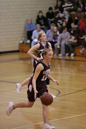 Girls Basket Ball 12/07/07