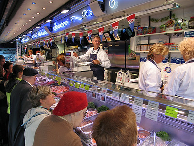 European Retail Fish Markets and seafood displays