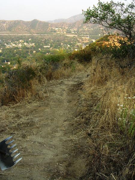 20080625019-Glendale Las Flores Trailwork.JPG