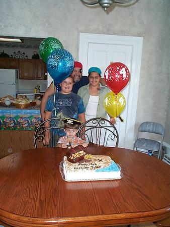 Tyler's 4th Birthday - August 26, 2001