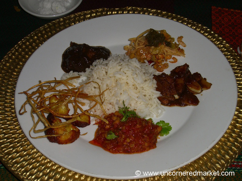 Burmese Food, Taster Plate - Mandalay, Burma