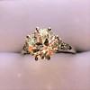 2.63ct Old European Cut Diamond Solitaire, GIA K VS2 12