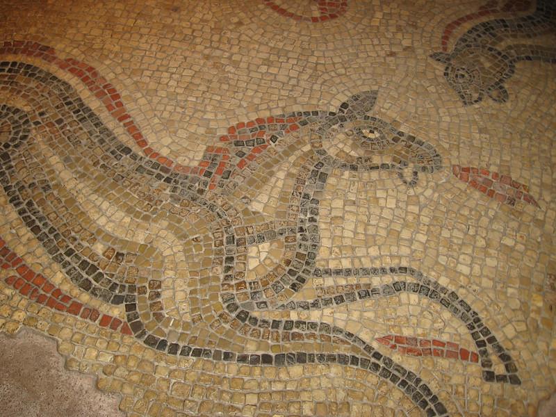 Roman mosiac, Bath