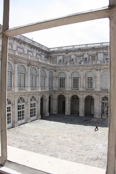 """I was naughty.  Photography was """"forbidden"""" inside the Palacio.  Oops."""