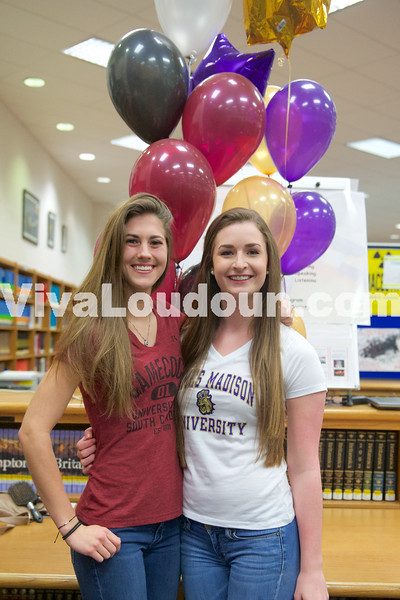College Signing Stone Bridge Volleyball 2015 (Scudder)