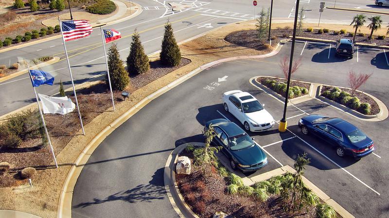 Hilton Garden Inn - Atlanta/Mcdonough, Georgia - That's my blue Honda Accord below
