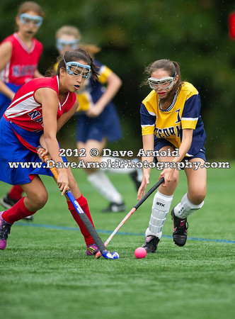 9/28/2012 - Freshman Field Hockey - Natick vs Needham
