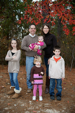 Hewitt Family Fall 2011